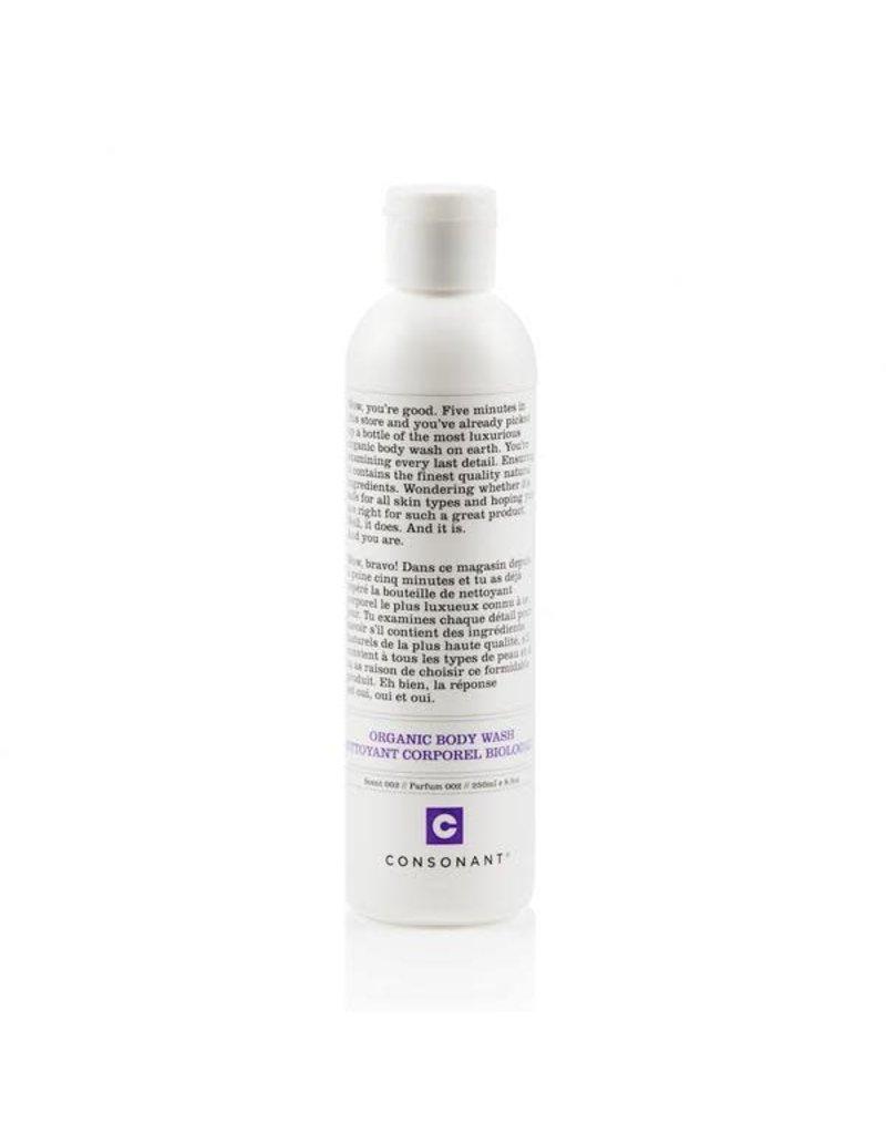 Consonant Organic Body Wash - Scent 002