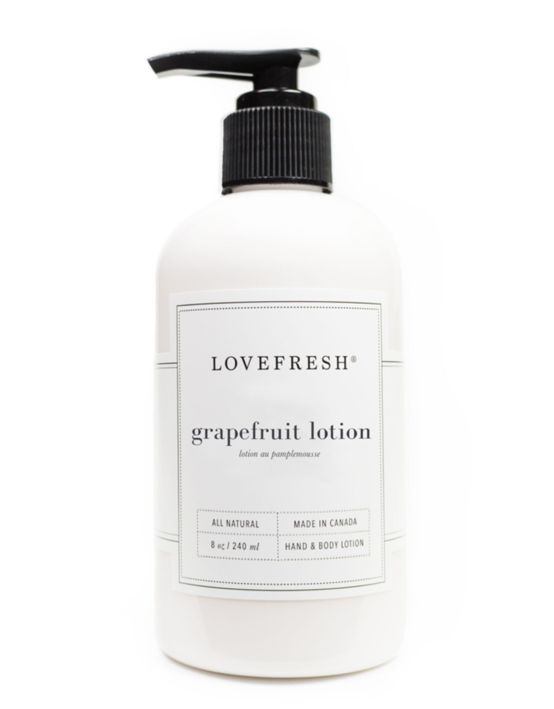 lovefresh Grapefruit Hand & Body Lotion