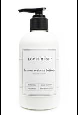 Lovefresh Lemon Verbena Hand & Body Lotion
