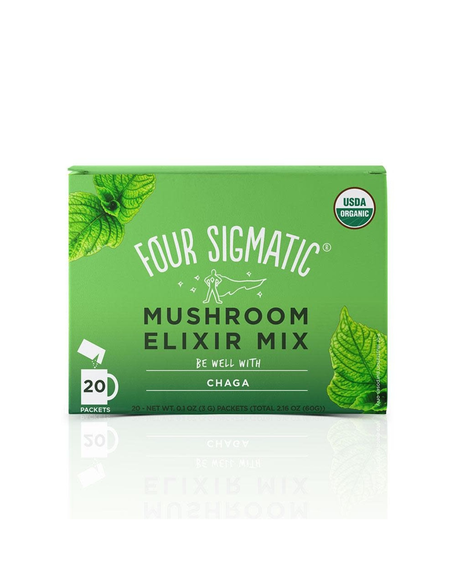 Four Sigmatic Chaga Mushroom Elixir (single)