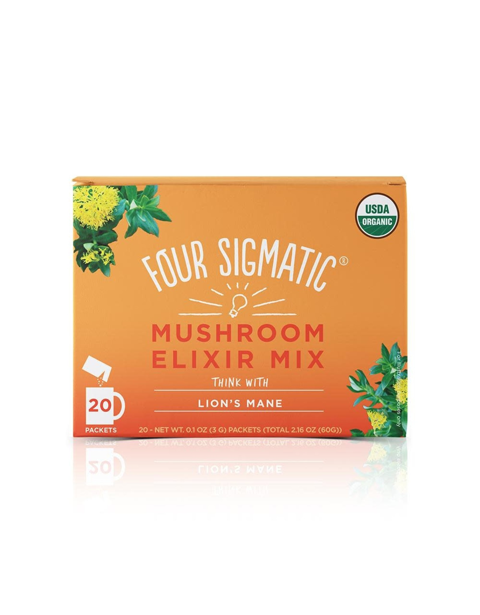Four Sigmatic Lion's Mane Mushroom Elixir (single)