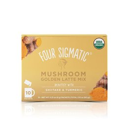 Four Sigmatic Mushroom Golden Latte w/ Shiitake Box of 10