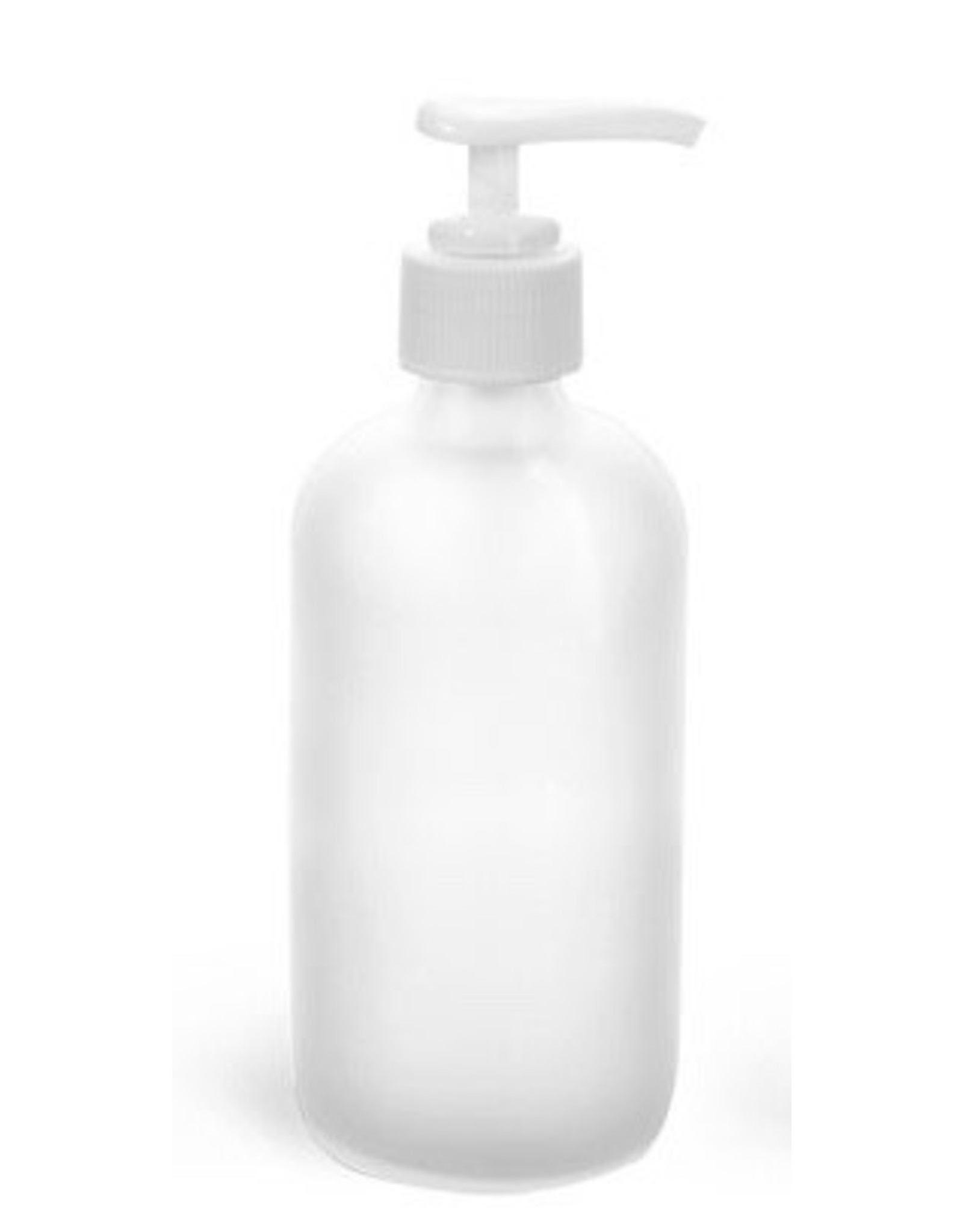 Garden City Essentials 8 oz Glass Bottle with Pump - Frosted
