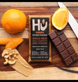 Hu Kitchen Orange Dream Vanilla Cashew Butter Dark Chocolate Bar