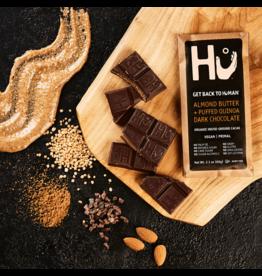 Hu Almond Butter + Puffed Quinoa Dark Chocolate Bar