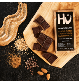 Hu Kitchen Almond Butter + Puffed Quinoa Dark Chocolate Bar