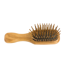 Redecker Olive Wood Pocket Hair Brush