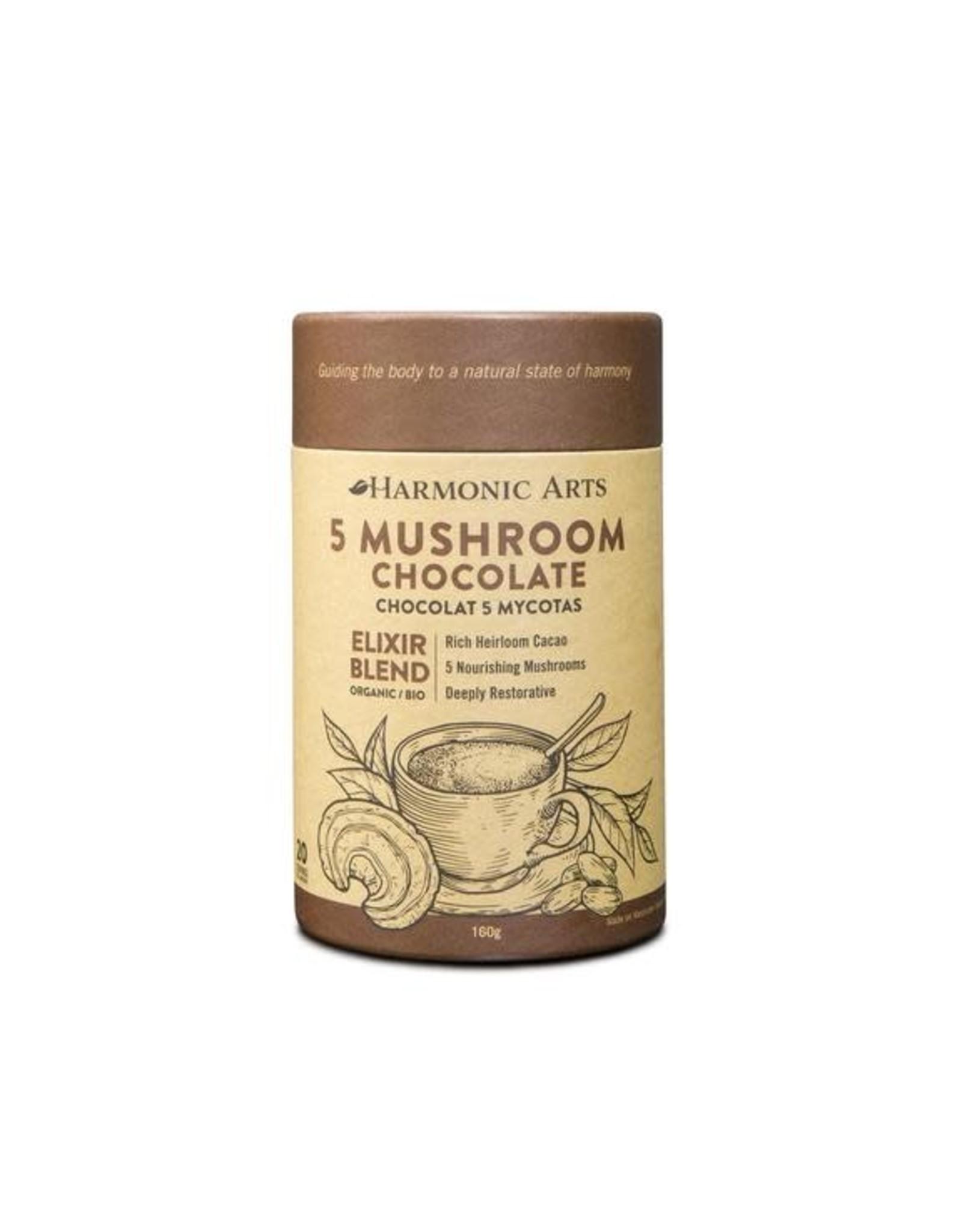 Harmonic Arts 5 Mushroom Drinking Chocolate