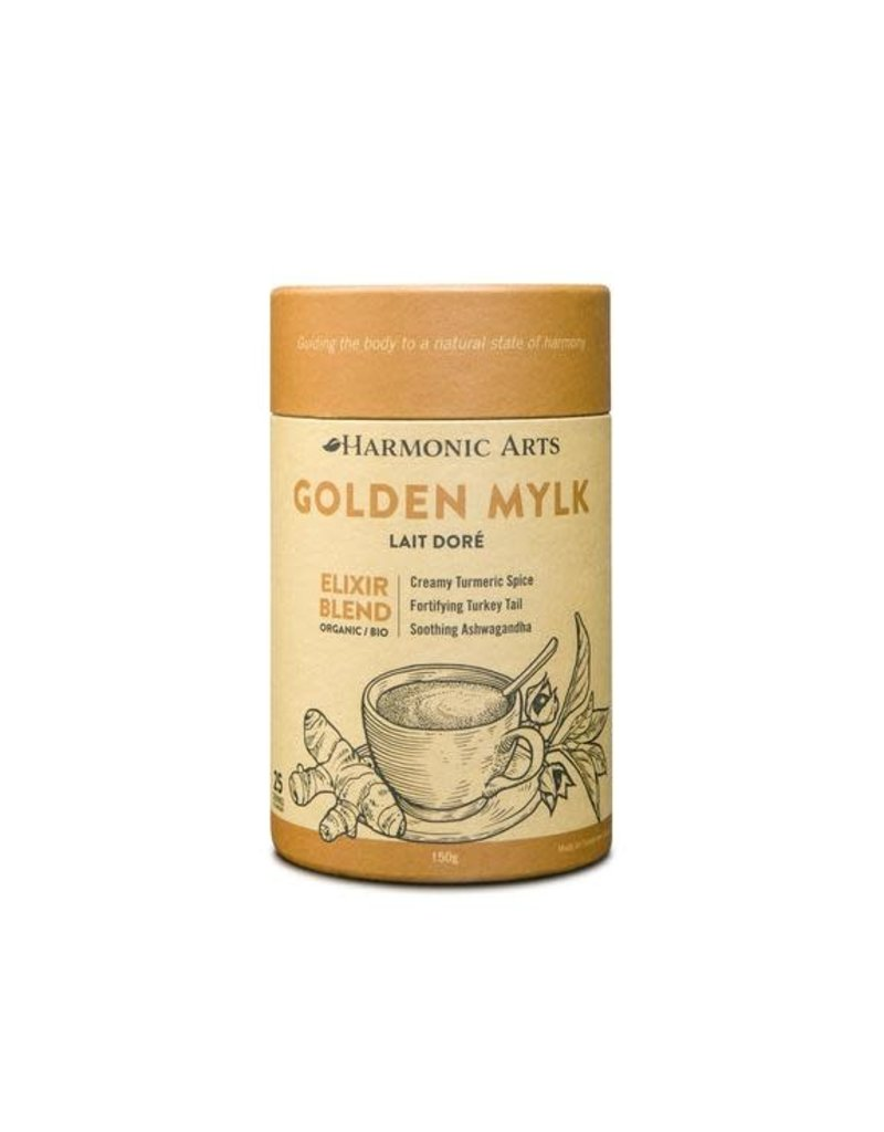 Harmonic Arts Golden Mylk Elixir Blend