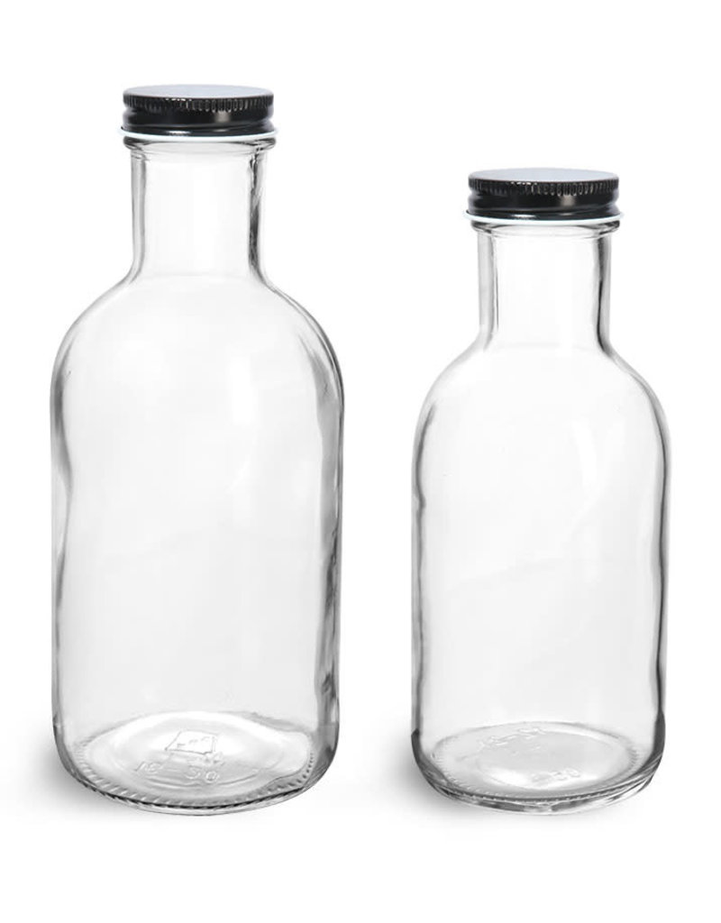 Garden City Essentials 16 oz Stout Glass Bottle - Clear