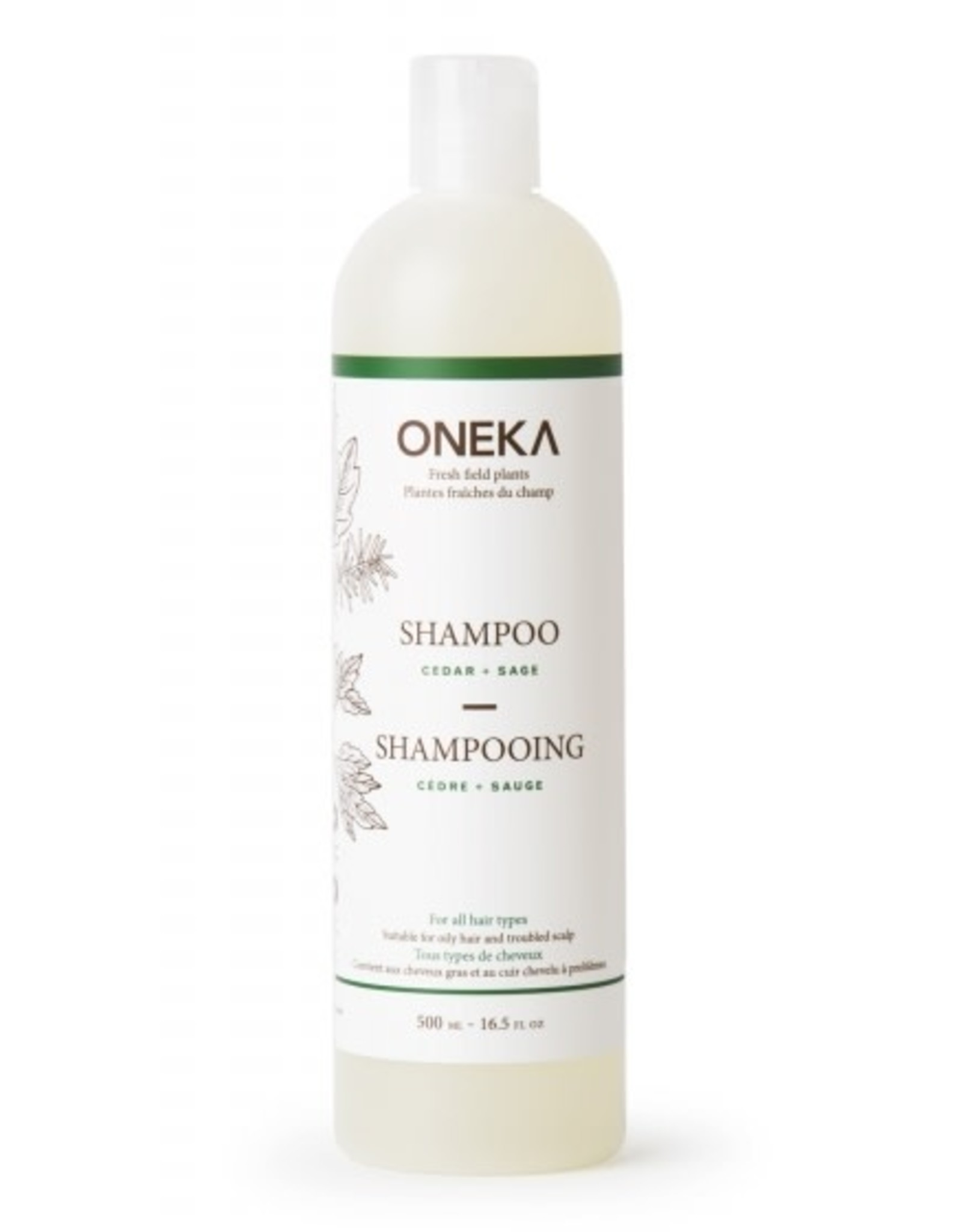 Oneka Cedar + Sage Shampoo