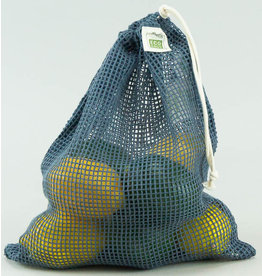 Eco-Bags Organic Cotton Mesh Produce Bag - Medium/blue