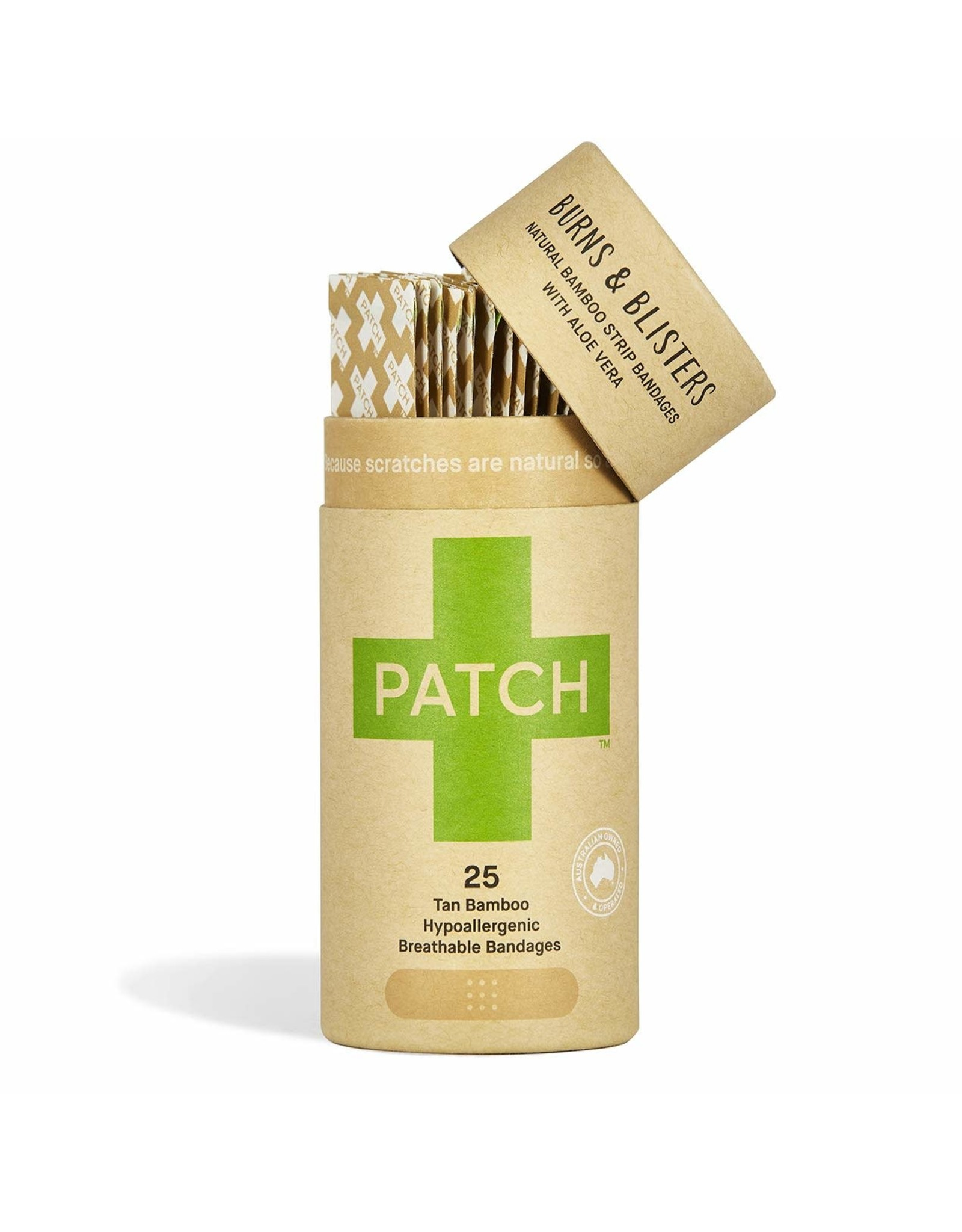 Patch Organic Bamboo Adhesive Strip Bandages (aloe vera)