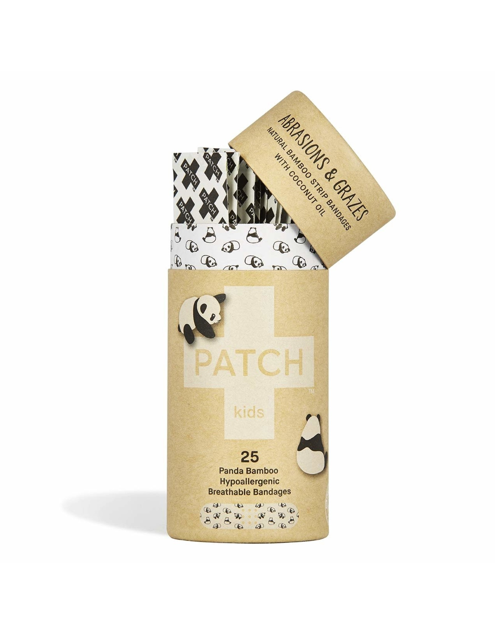 Patch Organic Bamboo Adhesive Strip Bandages (kids w/coconut)