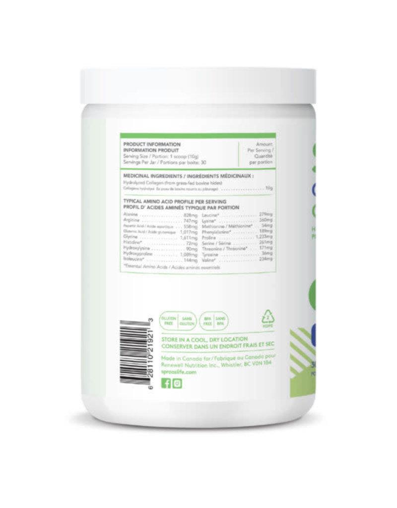Sproos Grass-Fed Collagen - Unflavoured