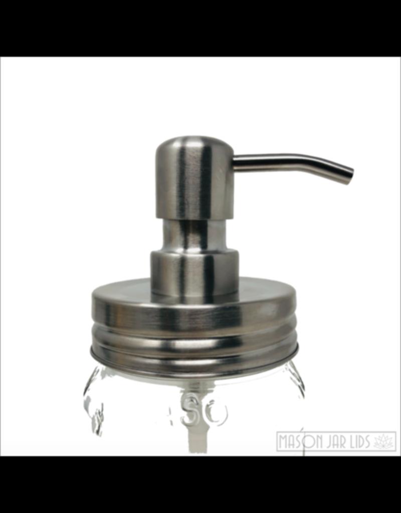 Mason Jar Lids Stainless Mason Jar Pump Dispenser Lid