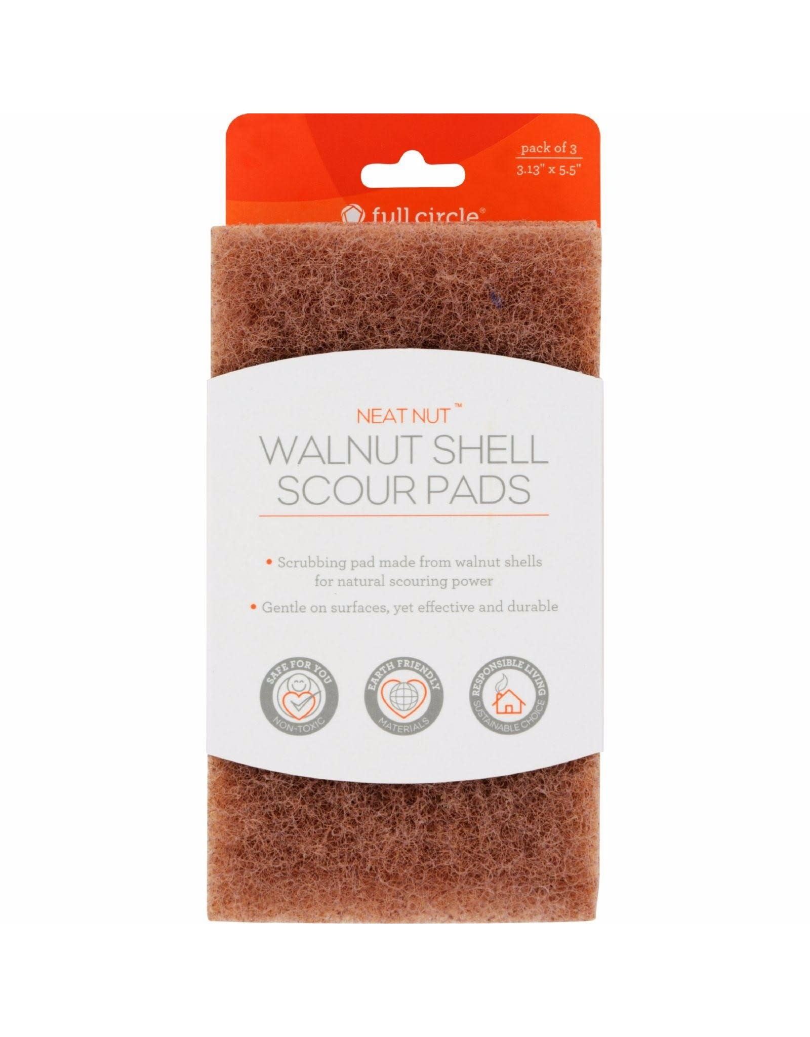 The Unscented Company Walnut Scour Pads