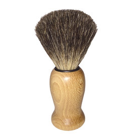 Redecker Shave Brush - Waxed Beechwood / Badger