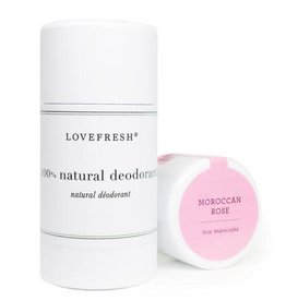 Lovefresh Moroccan Rose Deodorant