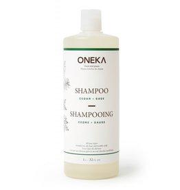 Oneka Cedar & Sage Shampoo 1L