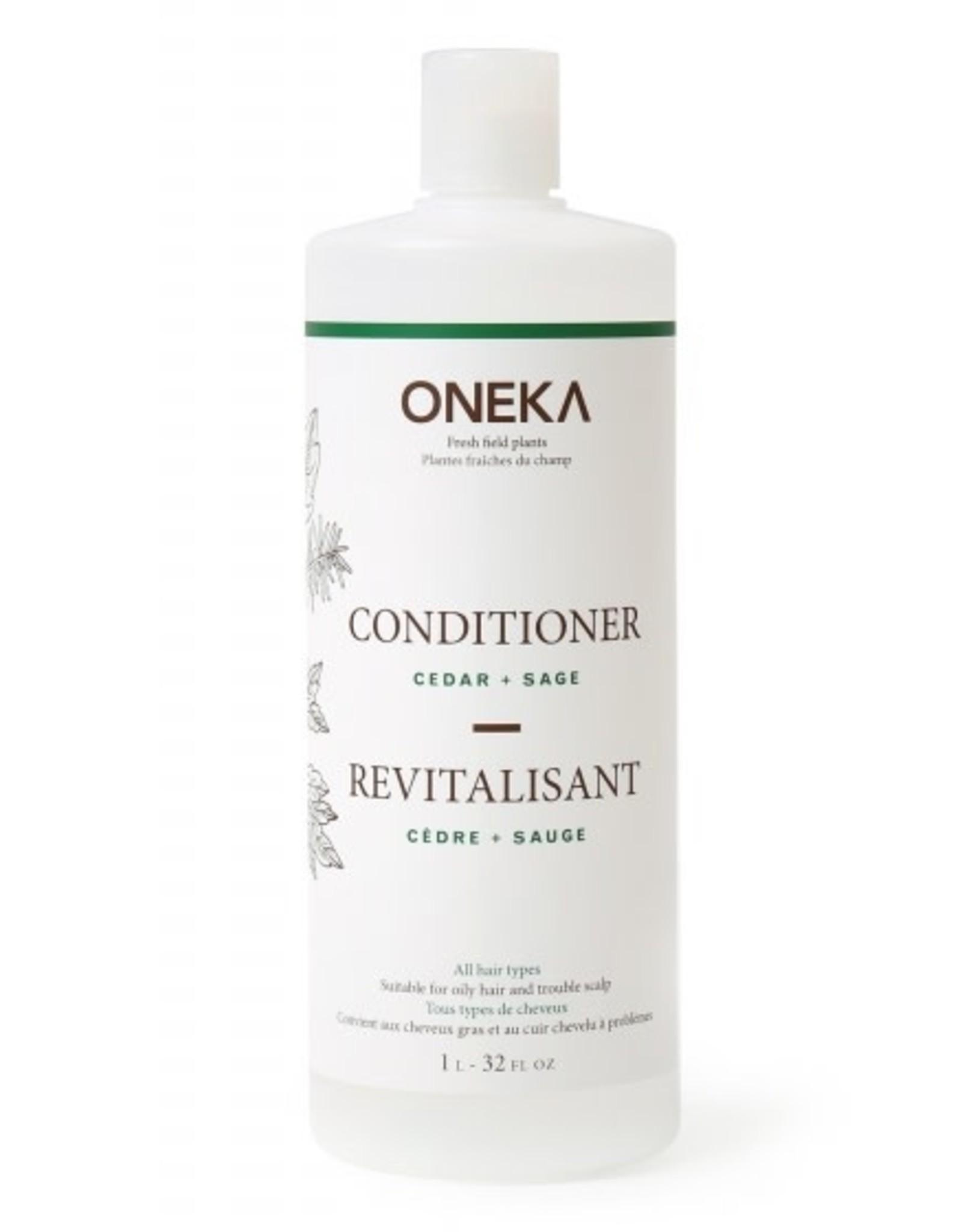 Oneka Cedar & Sage Conditioner 1L