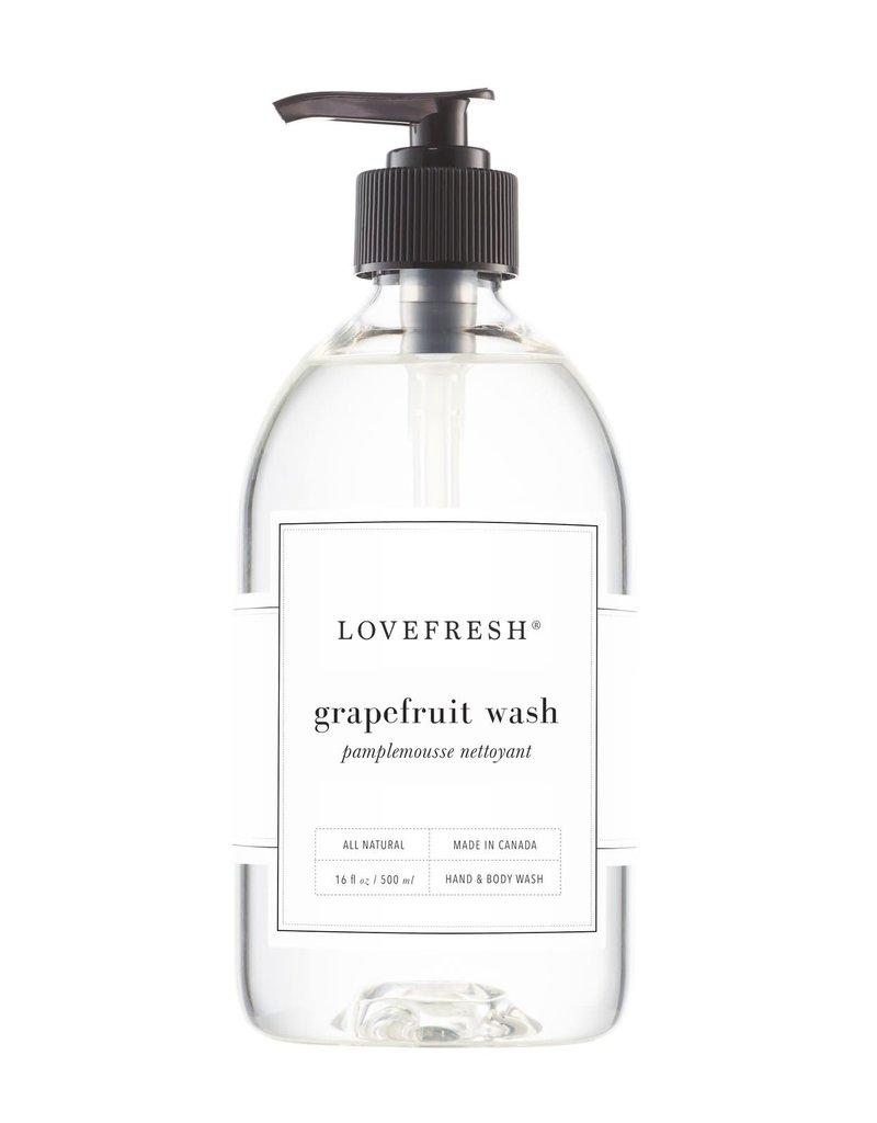 Lovefresh Grapefruit Hand & Body Wash