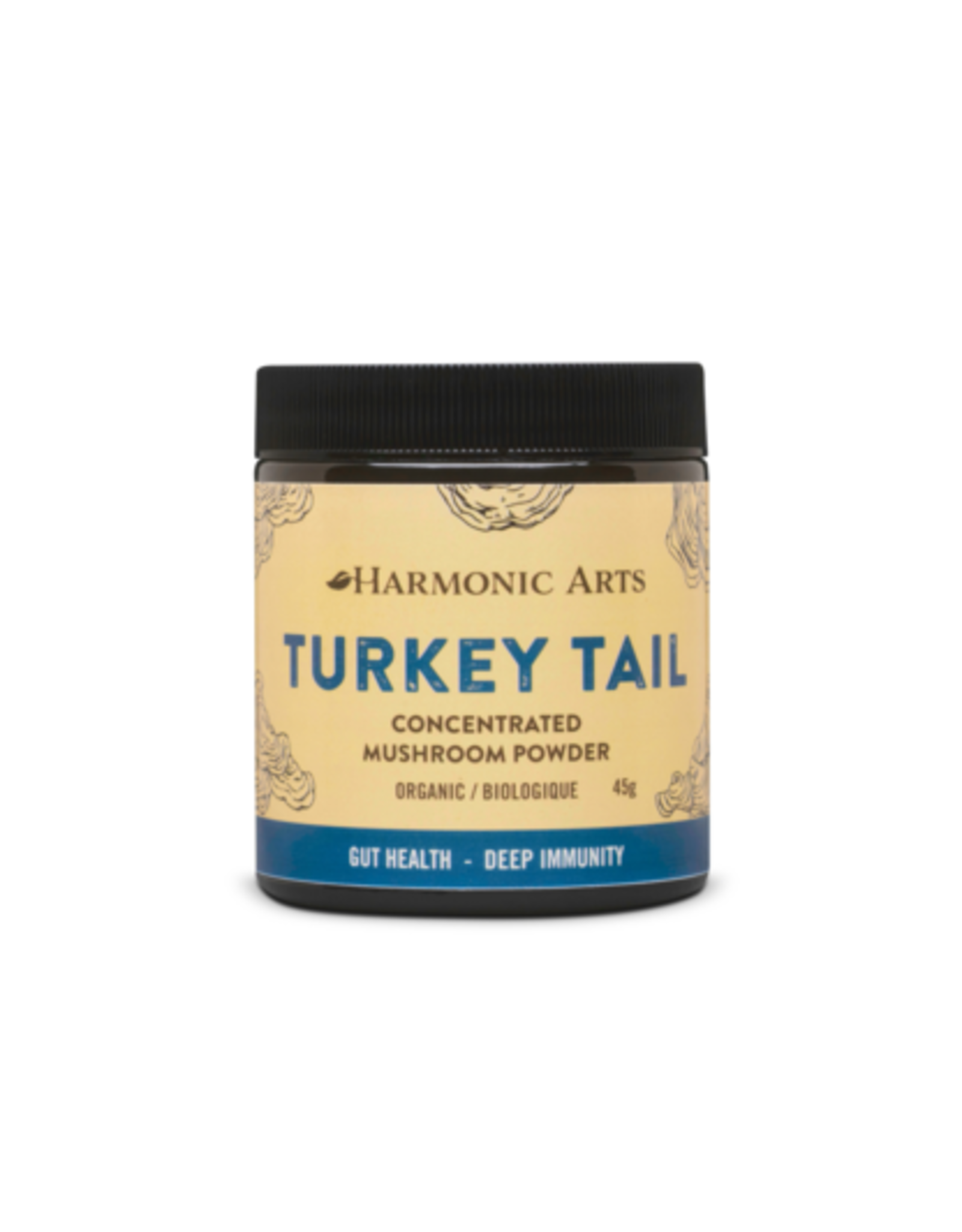 Harmonic Arts Turkey Tail Mushroom Powder