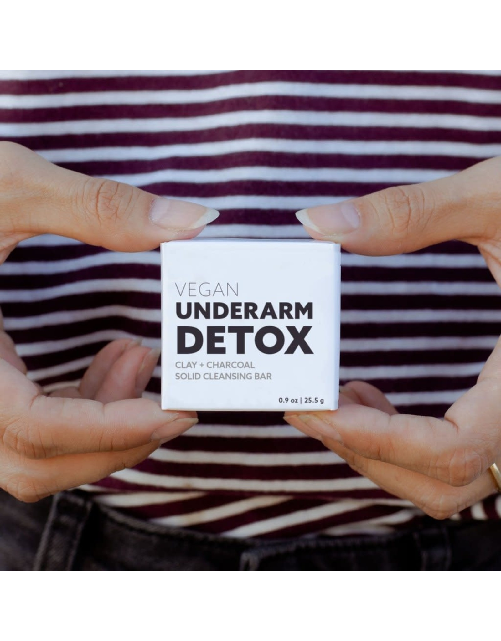No Tox Life Charcoal Underarm Detox Bar