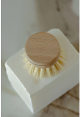 No Tox Life White Teak Dish Brush Head