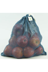 Eco-Bags Organic Cotton Mesh Produce Sack - Large/blue