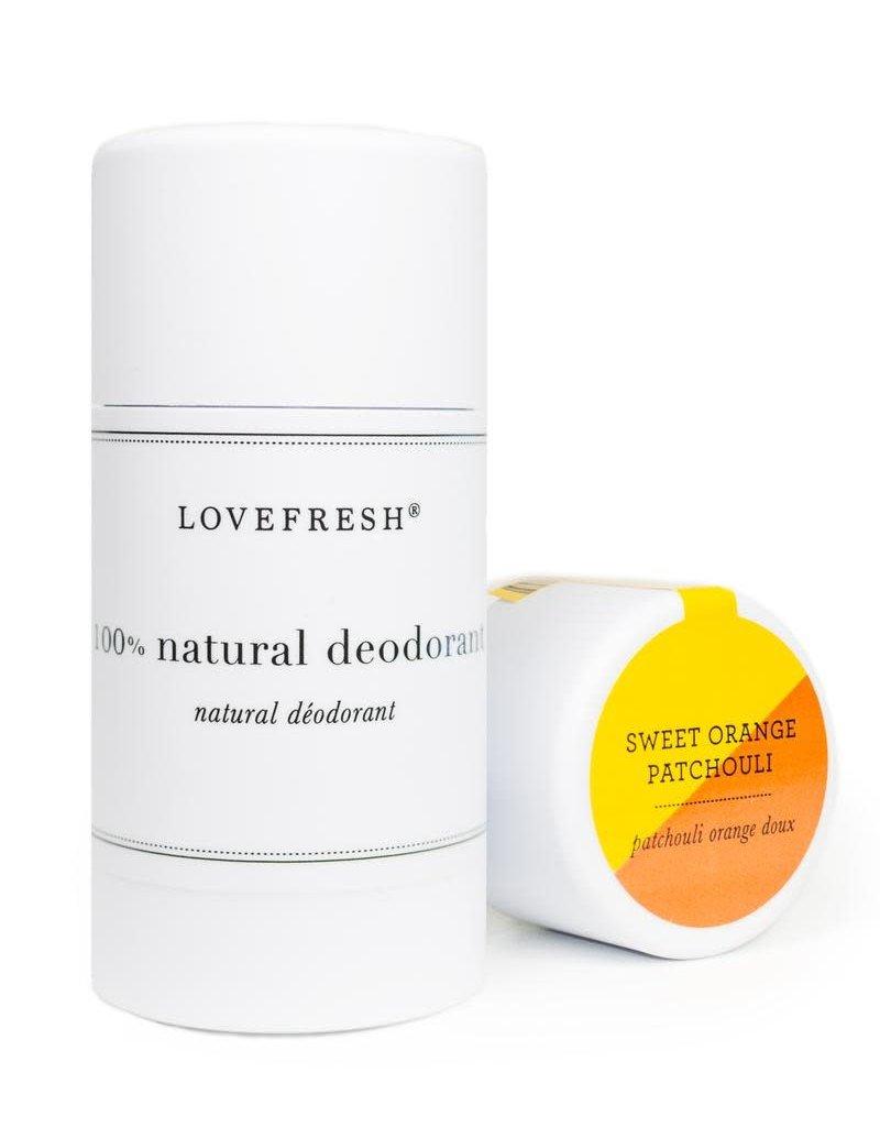 Lovefresh Sweet Orange Patchouli Deodorant