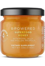 Beekeepers Naturals B. Powered Superfood Honey - 125g
