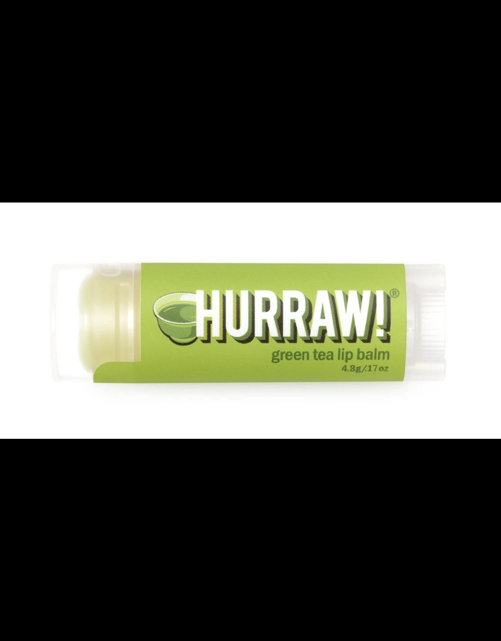 Hurraw Hurraw! Green Tea Lip Balm