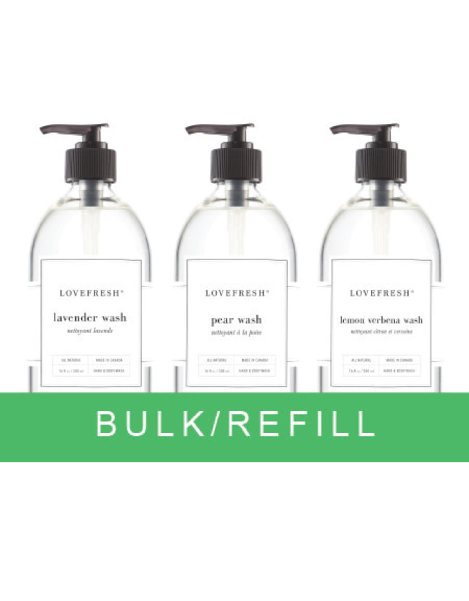 Lovefresh Hand & Body Wash Bulk / 100g