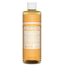 Dr. Bronner's Citrus Castile Liquid Soap 16oz / 473 ml