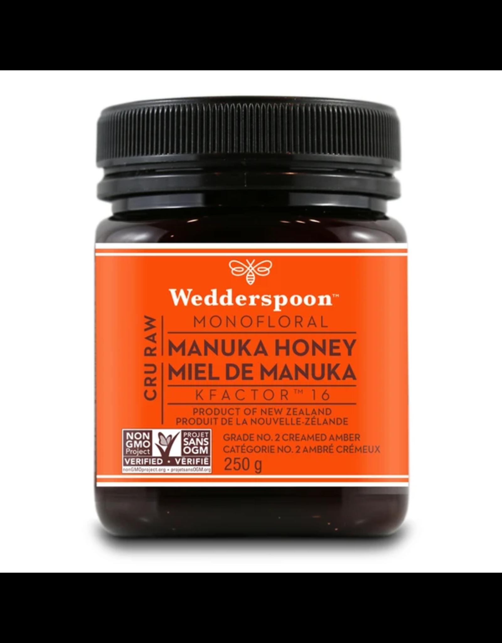 Wedderspoon Manuka Honey Kfactor 16