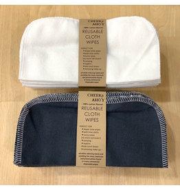 Cheeks Ahoy Cloth Wipes 30pk