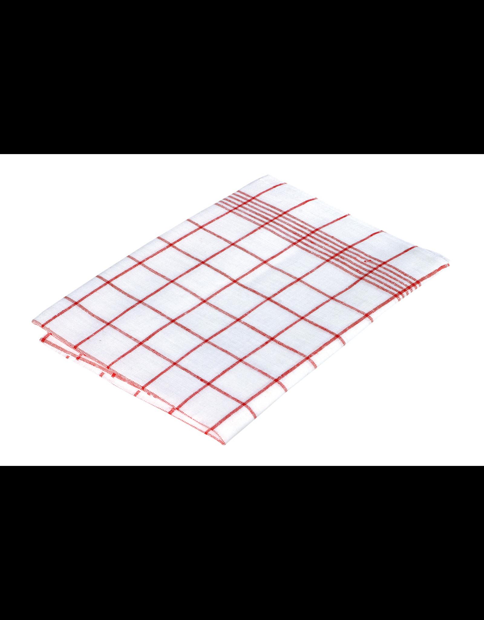 Redecker Check Dish Towel - 100% Linen