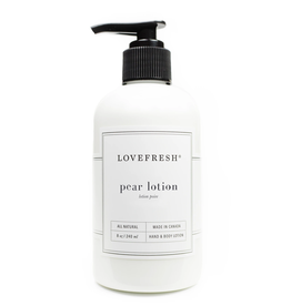 Lovefresh Pear Hand and Body Lotion