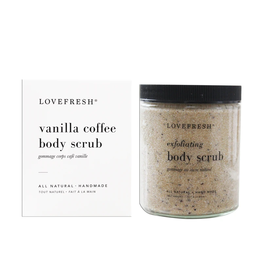 Lovefresh Vanilla Coffee Sugar Scrub