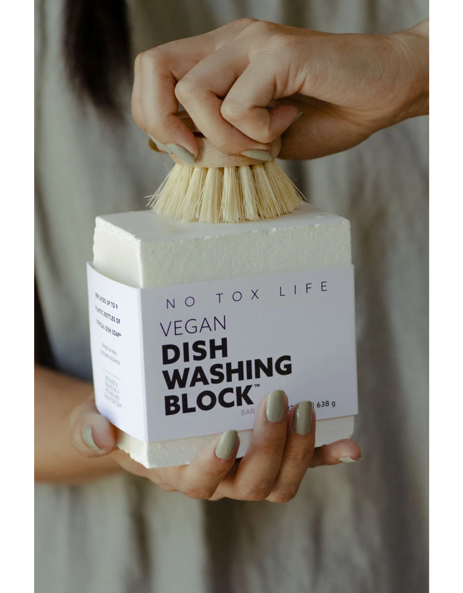 No Tox Life HUGE Vegan Dish Block