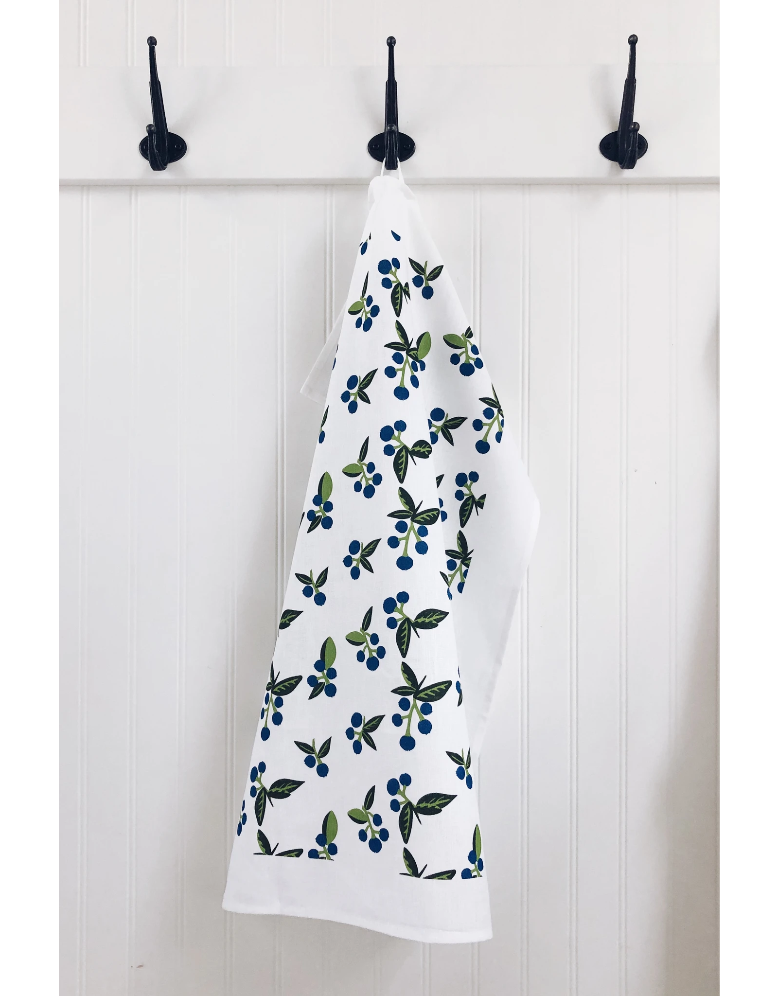 Ten & Co Tea Towel - Vintage Blueberry