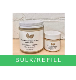 Garden City Essentials Deodorant Cream bulk/refill
