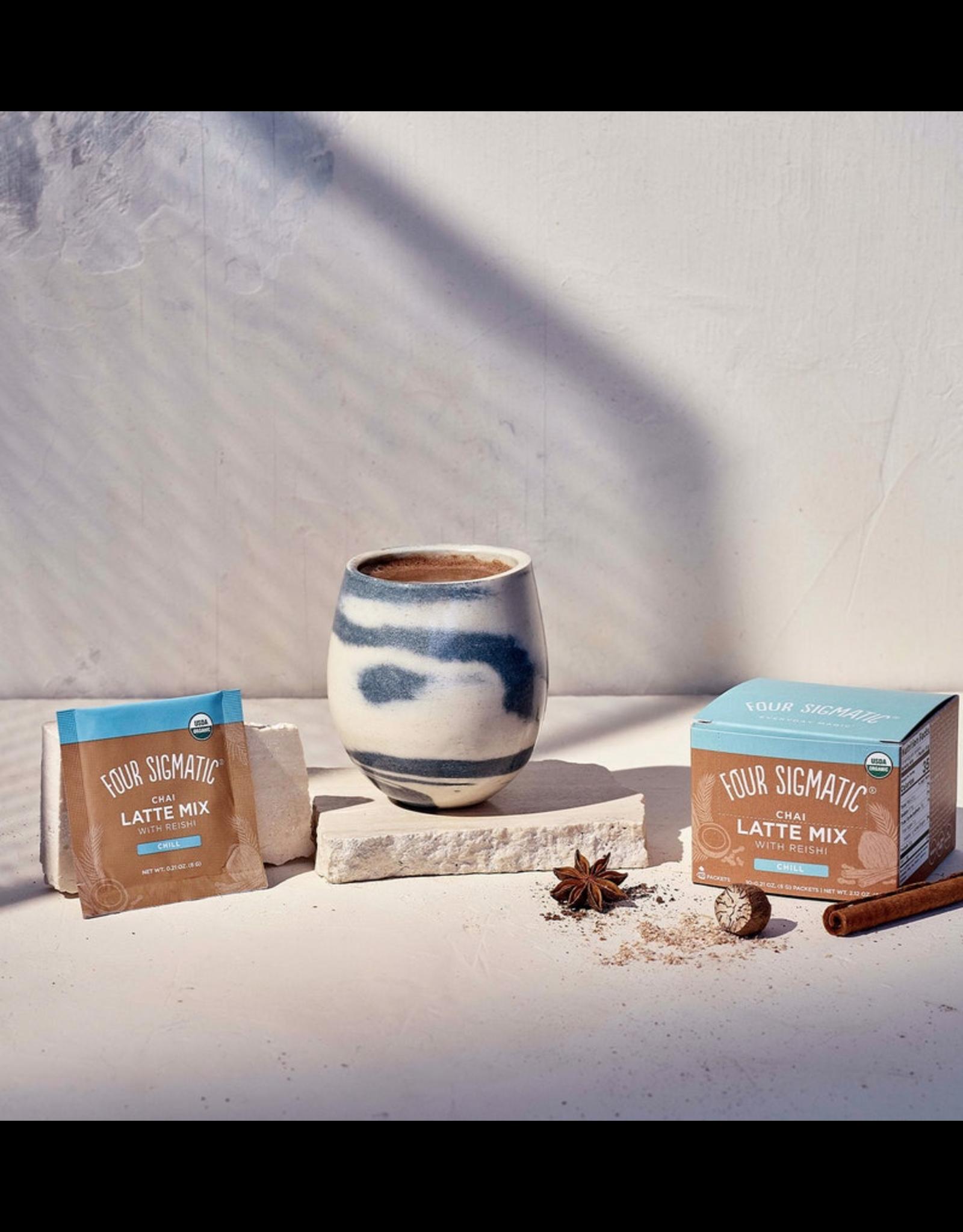 Four Sigmatic Mushroom Chai Latte Mix w/ Turkey Tail & Reishi