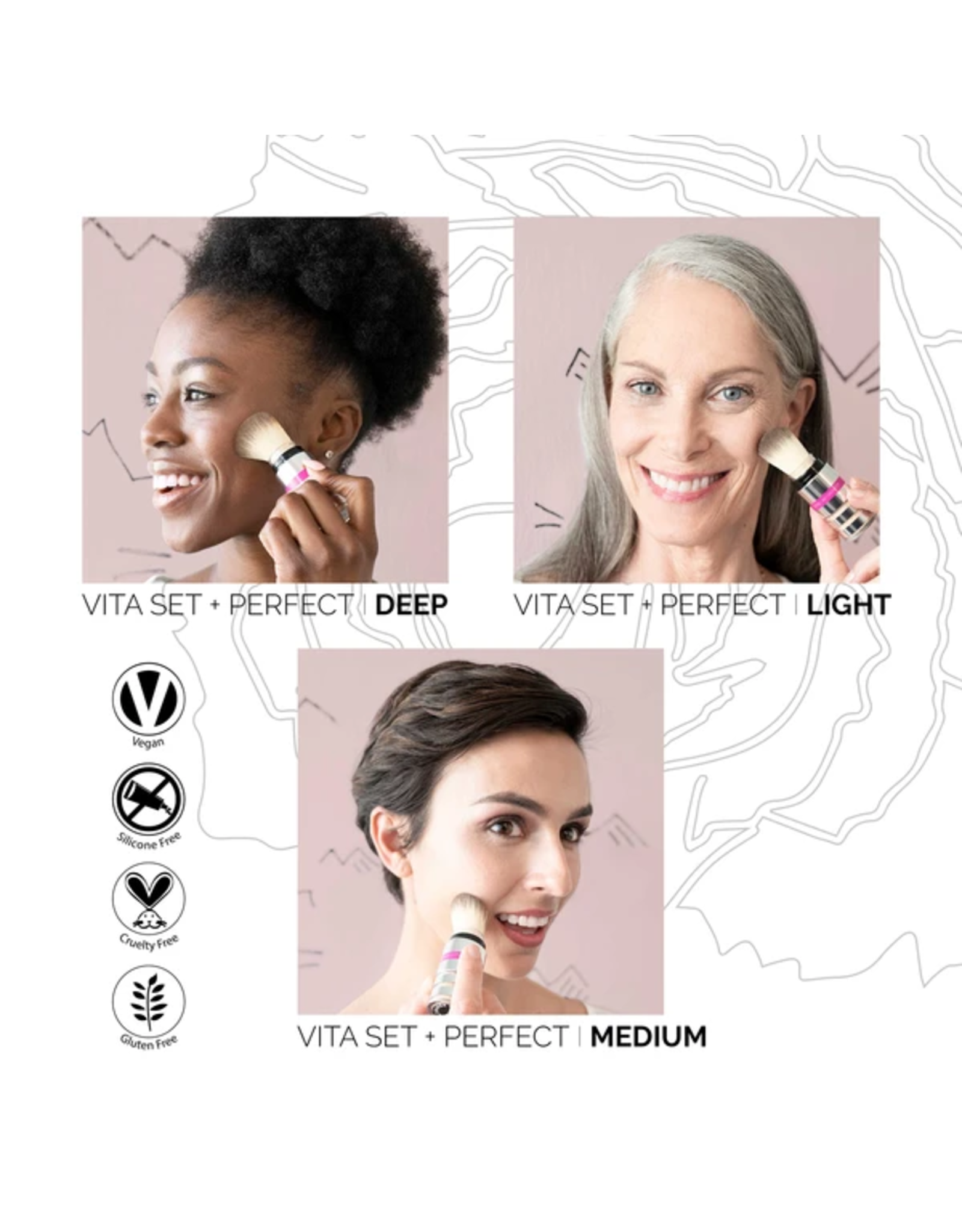 Fitglow Beauty Vita Set + Perfect