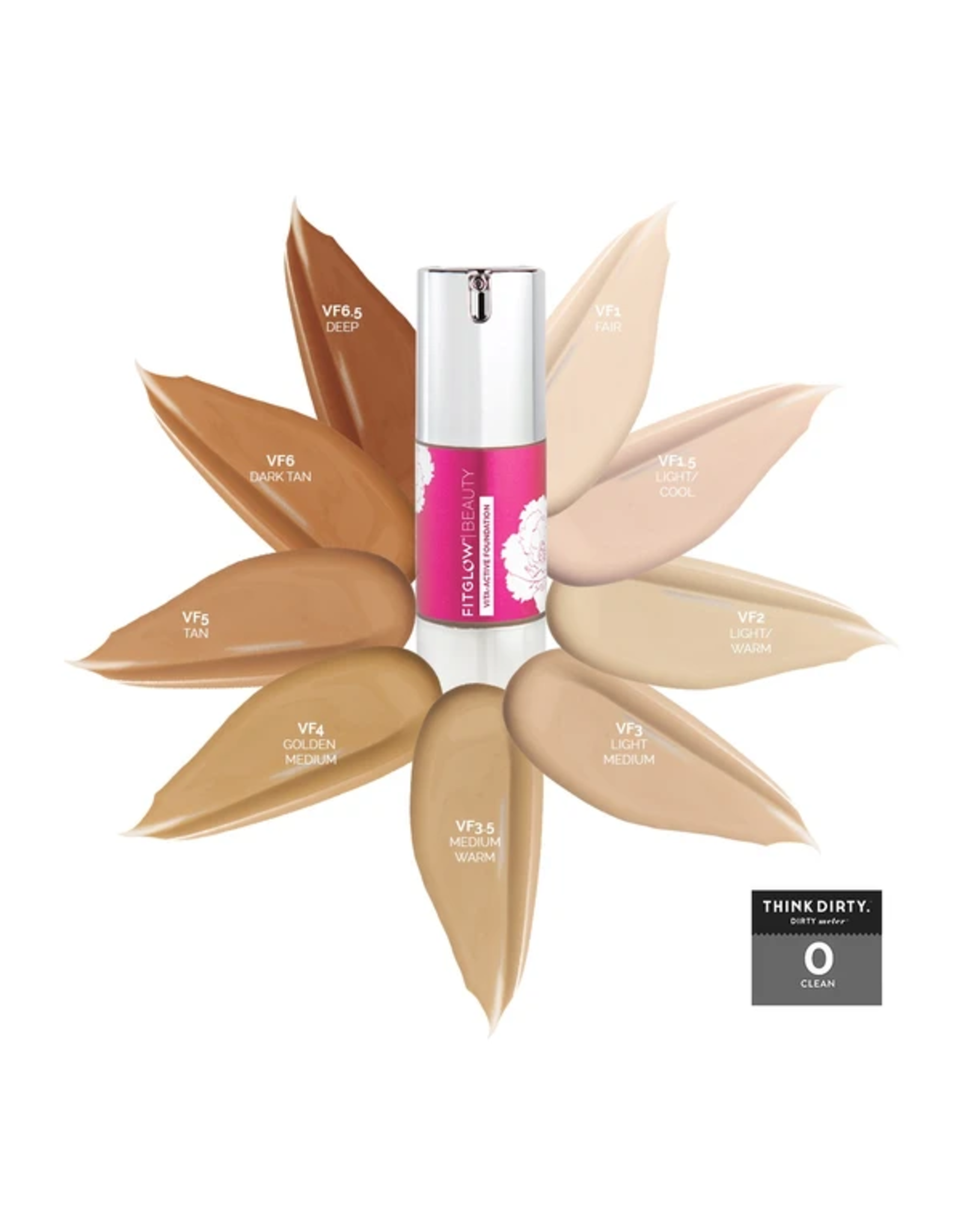 Fitglow Beauty Fitglow Vita Active Foundation