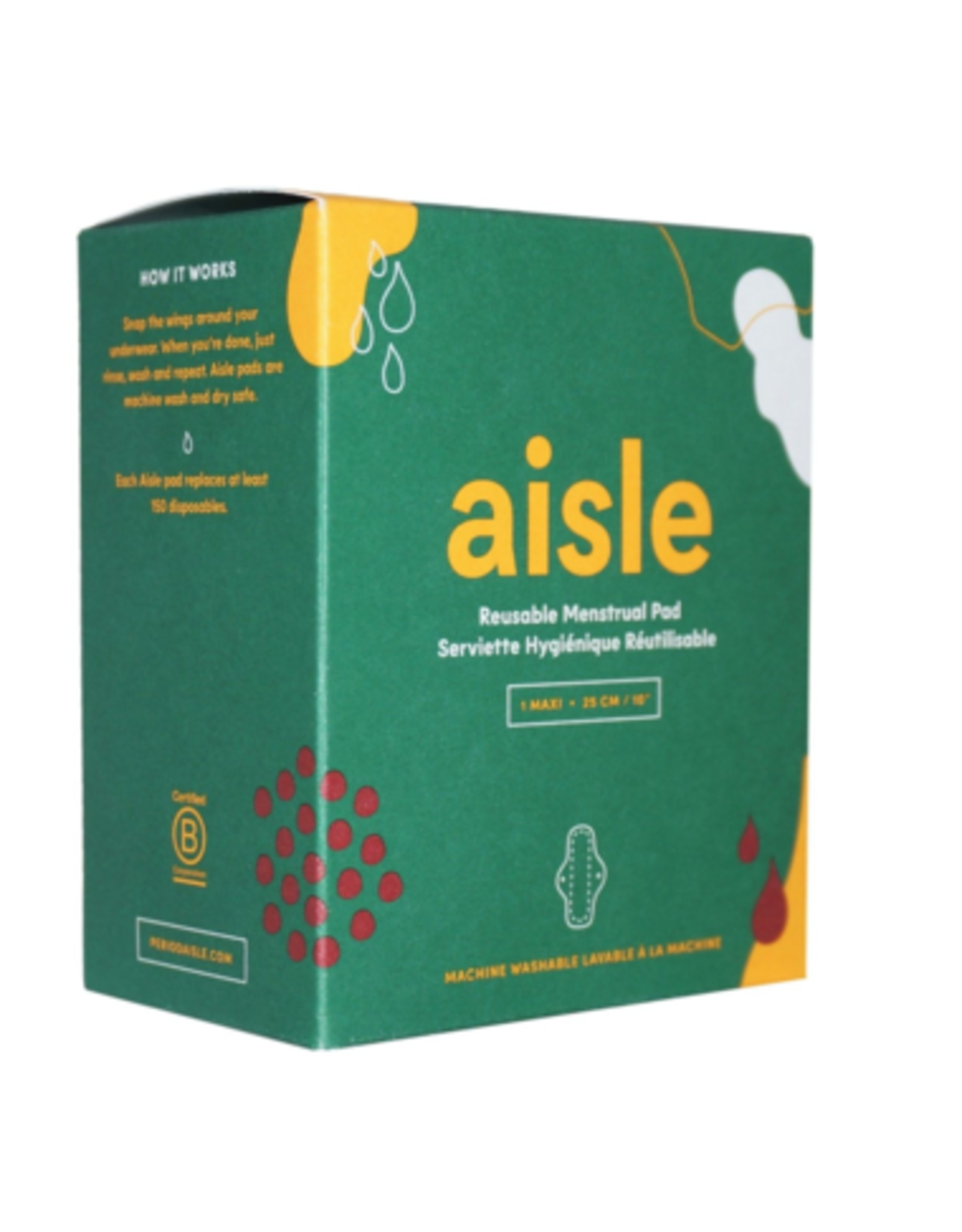 Aisle Reusable Menstrual Pad