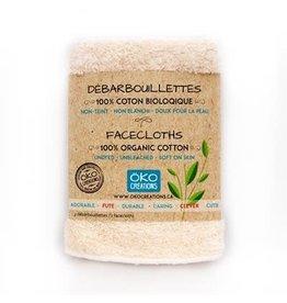 Oko Creations Large Organic Cotton Face Cloth