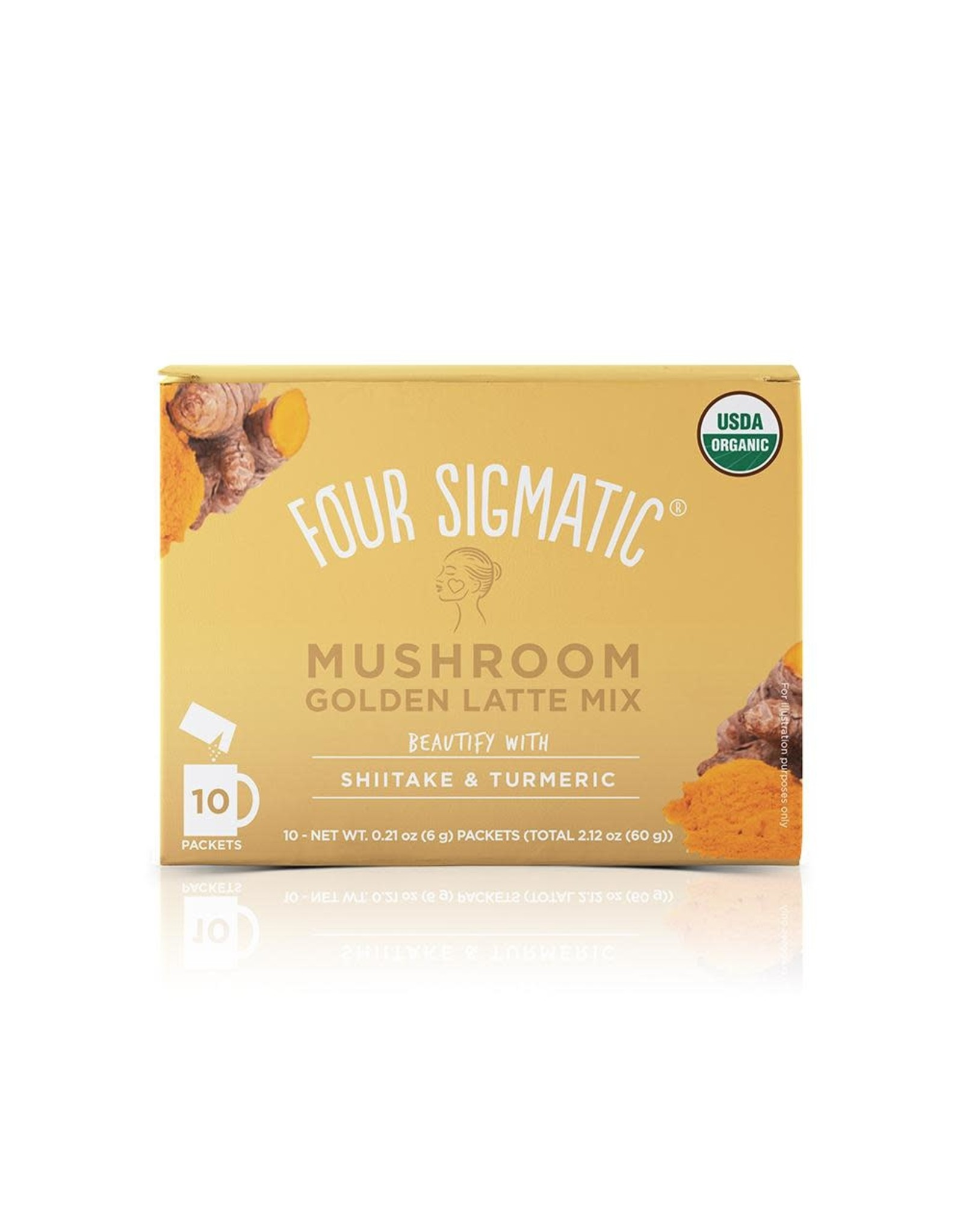 Four Sigmatic Mushroom Golden Latte Mix w/ Shiitake & Turmeric