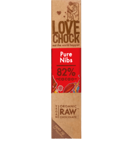 Lovechock Love Chock - Pure Nibs Organic Raw Chocolate